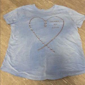 Old Navy Shirts & Tops - Heart of gold shirt
